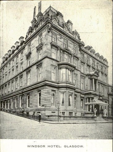 Windsor Hotel, Glasgow