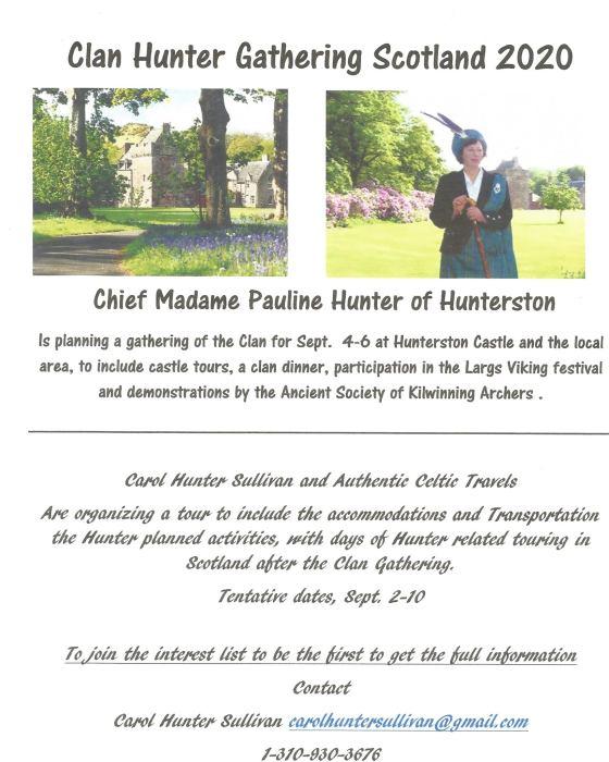Clan Hunter Flyer