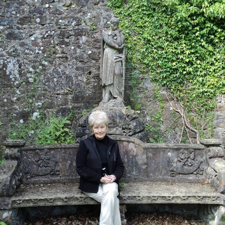 Carol Hunter-Sullivan 2014 Hunterston Castle Walled Garden(1)