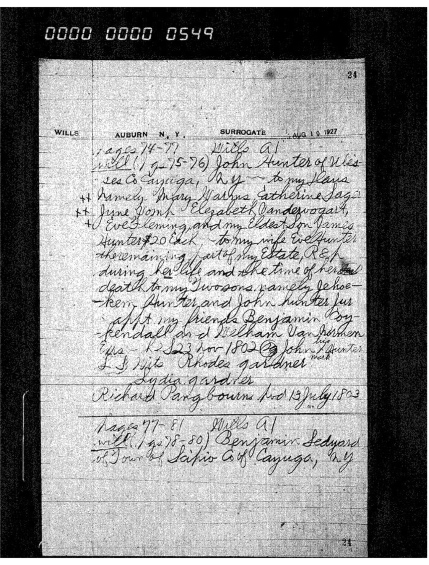 New York_ Abstracts of Wills, Admins. and Guardianships, 1787-1835